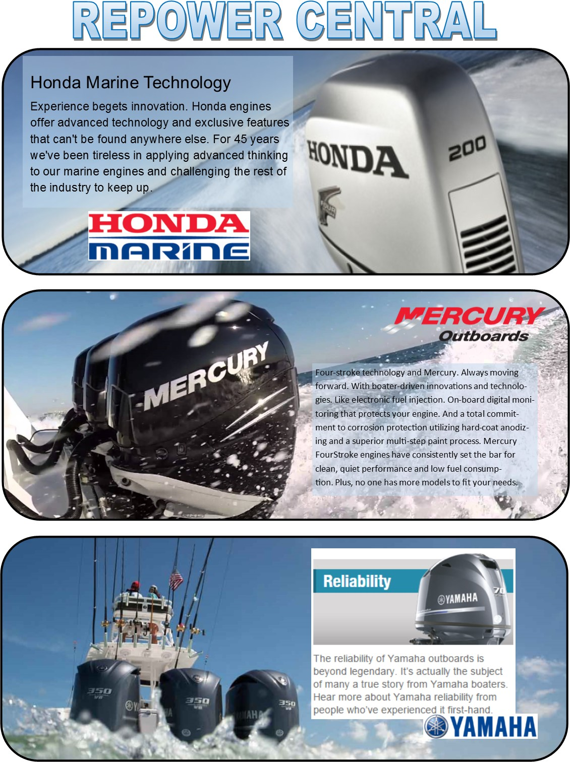 Outboard Motor Sales in Florida - Top Notch Marine