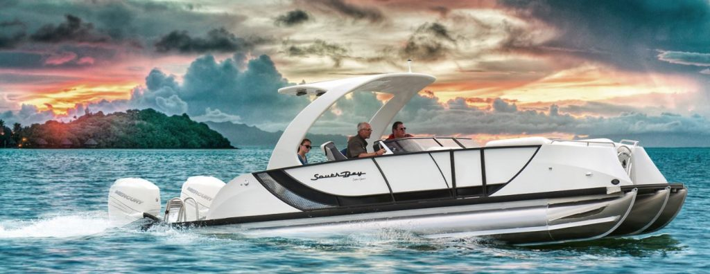 South Bay Sport Series Pontoon Boat
