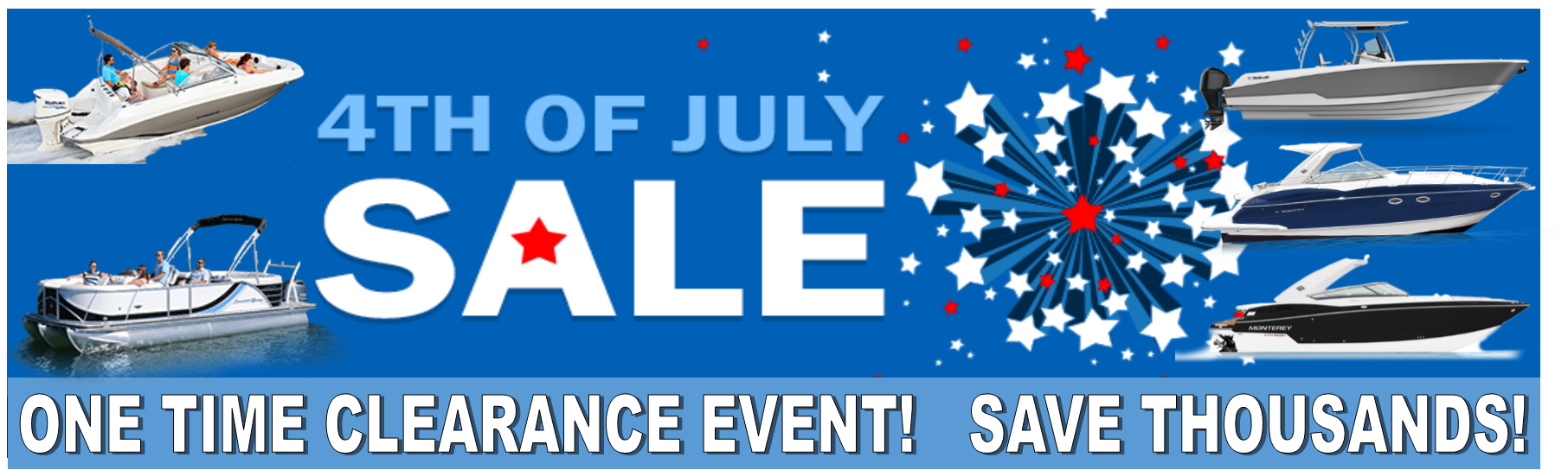 4th of July Boat Sale