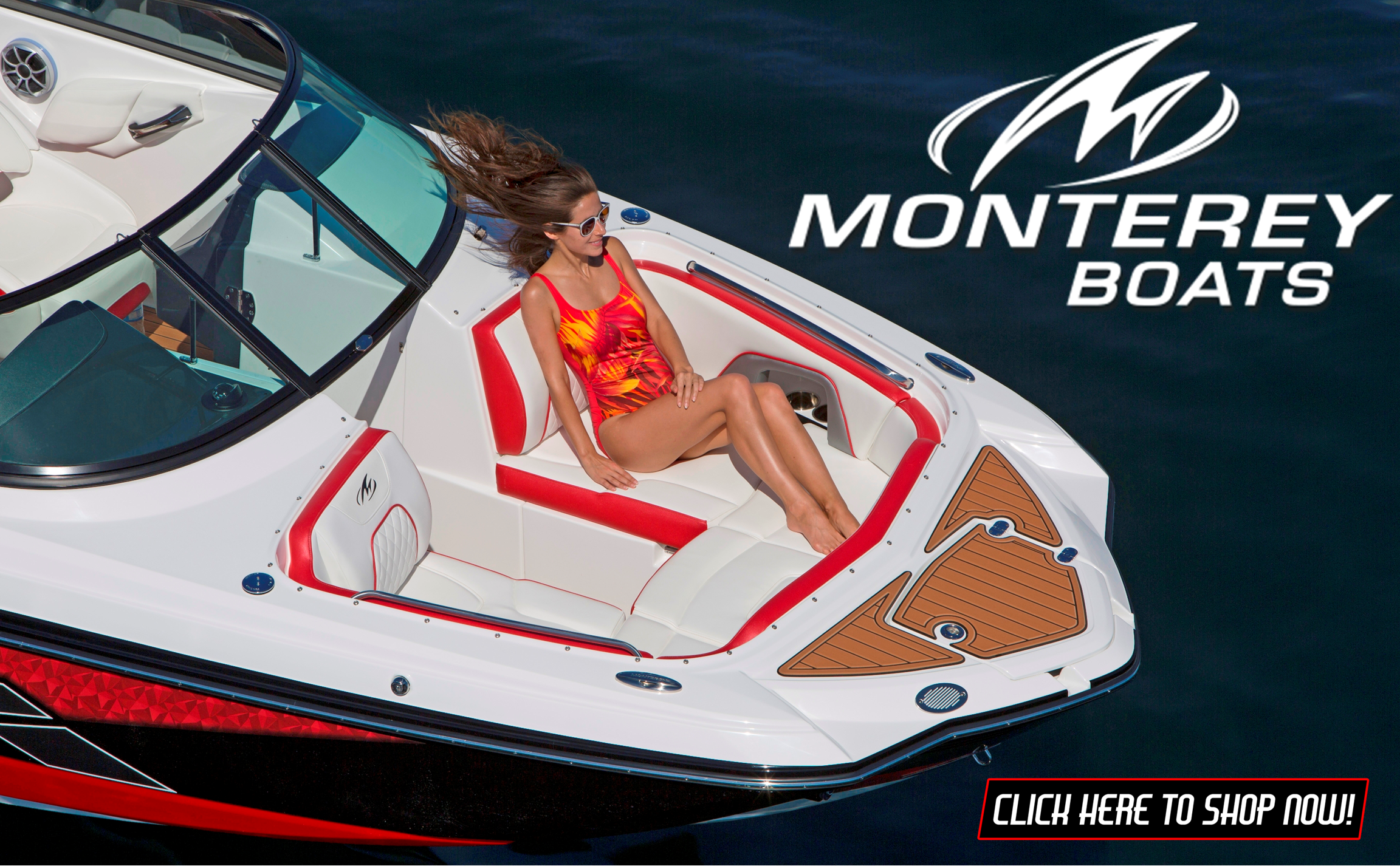 Monterey M45 and M65 Deck Boats for Sale