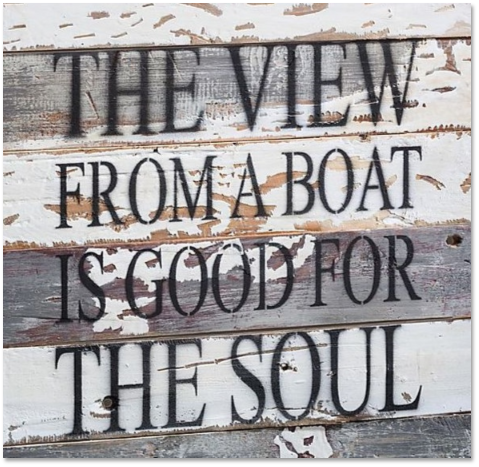 Boating is Good for the Soul