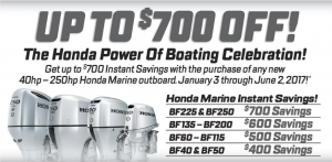 Honda Outboard Sale-abration